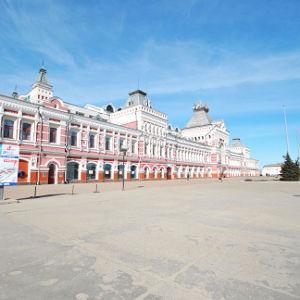 Мультимедийную выставку начали устанавливать в парке «Россия – моя история» на ярмарке - фото