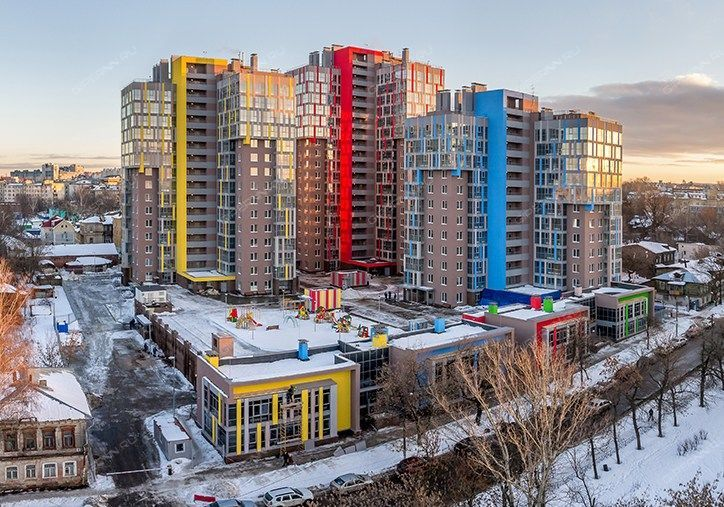 Новый жилой комплекс на малой ямской нижний новгород